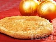 Обикновенна коледна питка със сода (без мая)